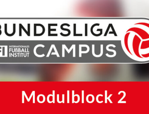 März: 25.-28.03.2021 Wiederaufnahme des Bundesliga-Campus mit Modulblock 2